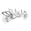 Porte-bagage pour tricycle - Azub