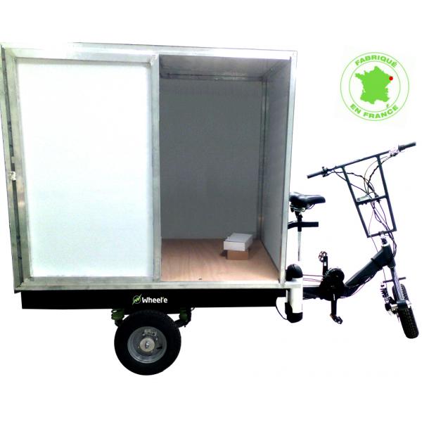 Triporteur électrique Vélovan | Tricycle utilitaire